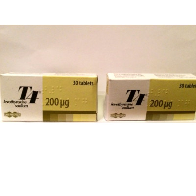 T4 Unipharma (90Tabs) 200µgr